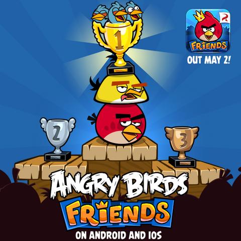 العب مع اصدقاءك الطيور الغاضبة Angry Birds Friends