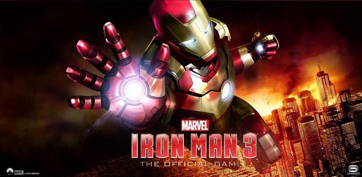 لعبة Iron Man 3 متاحة مجاناً على الاندرويد و iOS