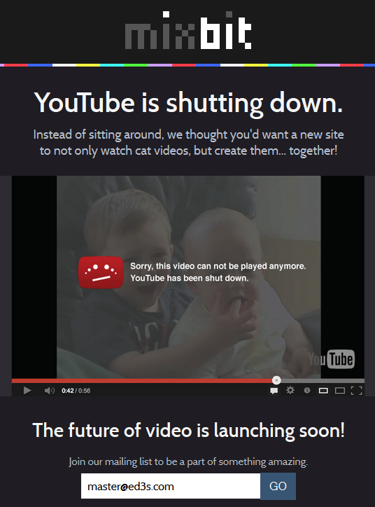 مؤسس اليوتيوب يطلق موقعه الجديد MixBit