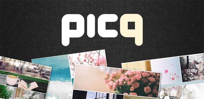 تطبيق دمج الصور Picq على الاندرويد