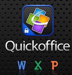 تطبيق Quickoffice مجاني للاندرويد والايفون
