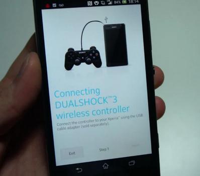 كيف تشغل يد PS3 على اجهزة Xperia